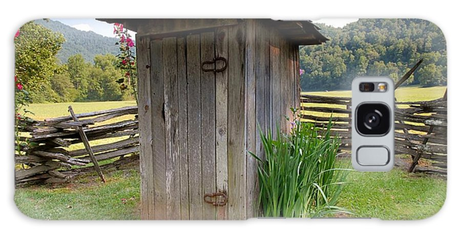 Outhouse Galaxy S8 Case featuring the photograph Outhouse by David Lee Thompson