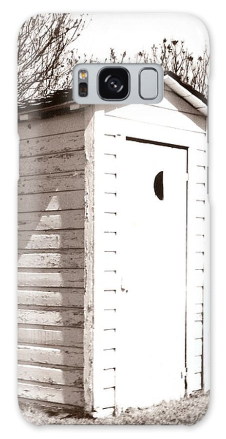 Outhouse Galaxy S8 Case featuring the photograph Outhouse by Marcin and Dawid Witukiewicz