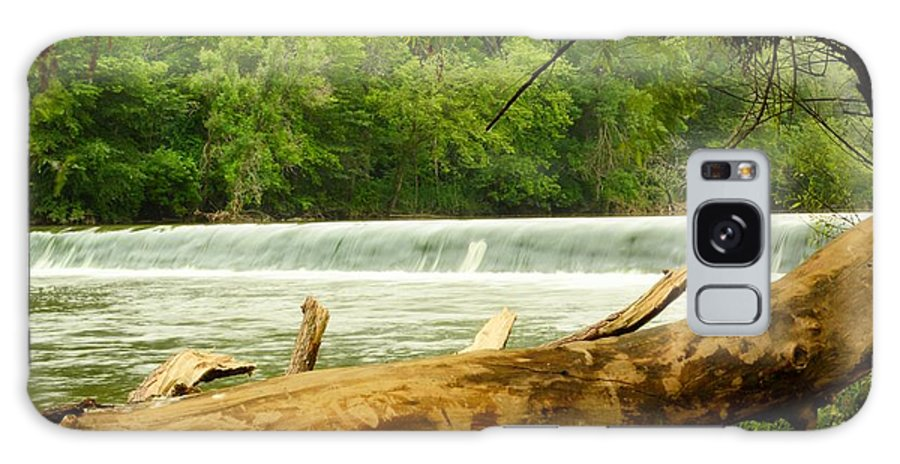 Dam Galaxy S8 Case featuring the photograph Over The Trunk by Bonfire Photography
