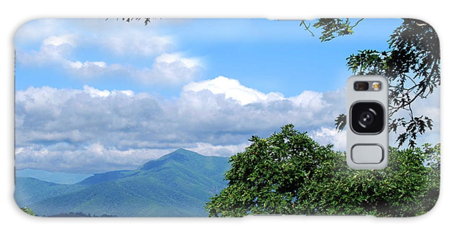 Mountains Galaxy S8 Case featuring the photograph Overlook On The Pisgah Trail by Patricia Motley