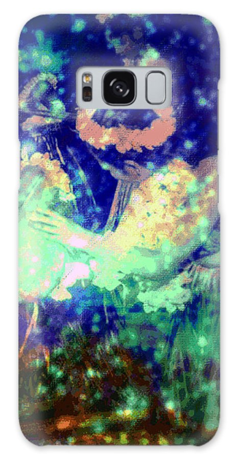 Tropical Interior Design Galaxy Case featuring the photograph Pa by Kenneth Grzesik