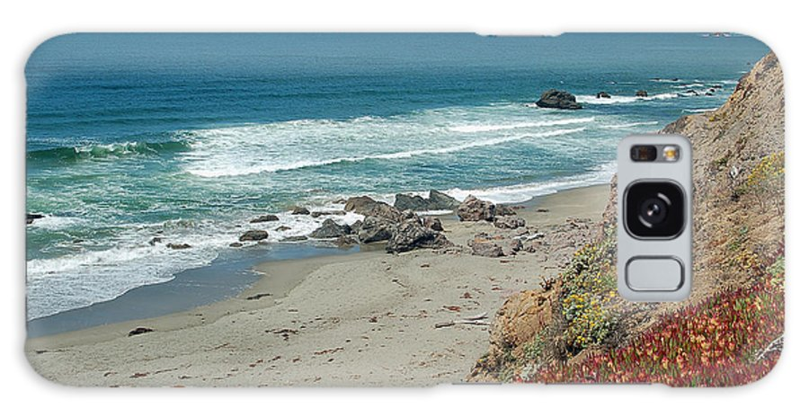 Pacific Coast Galaxy S8 Case featuring the photograph Pacific Coast View IIi by Suzanne Gaff