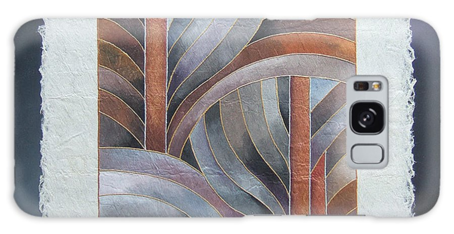 Fiji Islands Galaxy S8 Case featuring the painting Pacific Palms IIi by Maria Rova