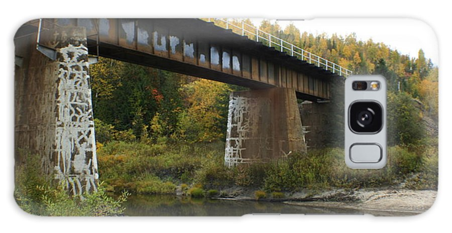 Bridge Galaxy Case featuring the photograph Pack River Bridge by Idaho Scenic Images Linda Lantzy
