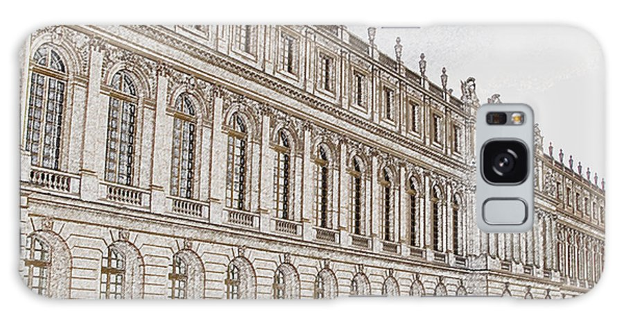 France Galaxy Case featuring the photograph Palace Of Versailles by Amanda Barcon