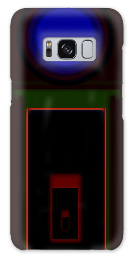 Palladian Galaxy S8 Case featuring the painting Palladian Night by Charles Stuart
