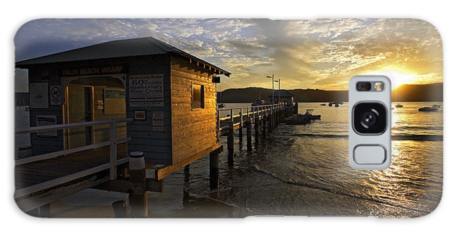 Palm Beach Sydney Australia Sunset Water Pittwater Galaxy S8 Case featuring the photograph Palm Beach Sunset by Sheila Smart Fine Art Photography