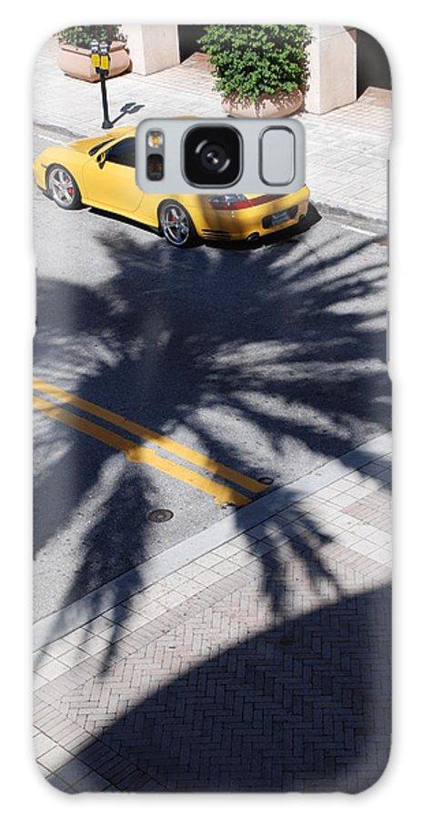 Porsche Galaxy S8 Case featuring the photograph Palm Porsche by Rob Hans