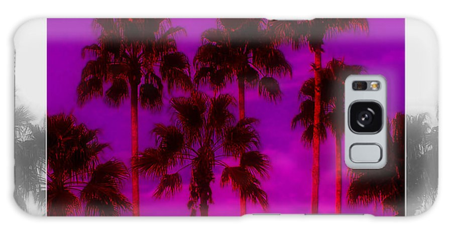 Palm Galaxy Case featuring the photograph Palm Tree Heaven by Kenneth Krolikowski