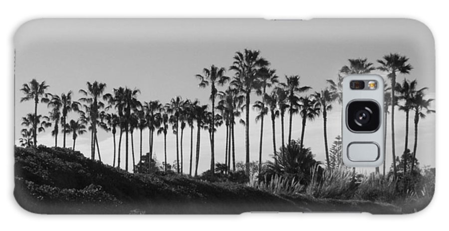 Landscapes Galaxy S8 Case featuring the photograph Palms by Shari Chavira