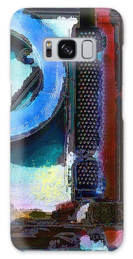 Abstract Galaxy Case featuring the photograph panel one from Centrifuge by Steve Karol