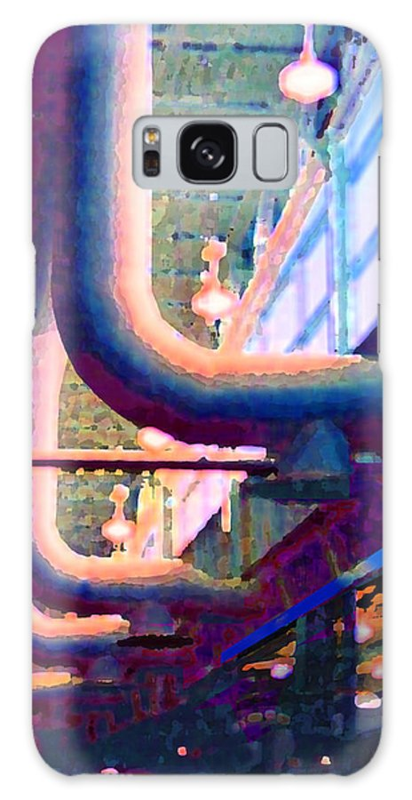 Abstract Galaxy S8 Case featuring the photograph panel one from Star Factory by Steve Karol