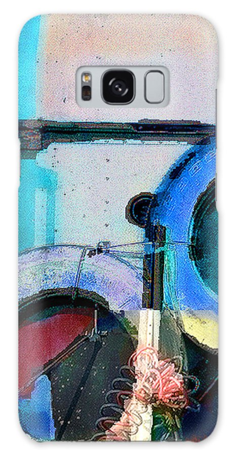 Abstract Galaxy S8 Case featuring the photograph panel three from Centrifuge by Steve Karol