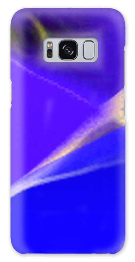Abstract Galaxy Case featuring the digital art panel three from Movement in Blue by Steve Karol