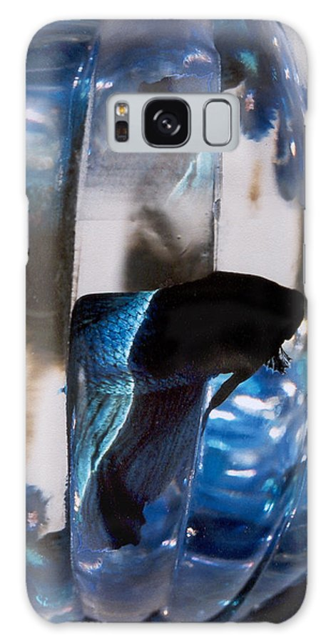 Abstract Galaxy S8 Case featuring the photograph panel three from Swirl by Steve Karol