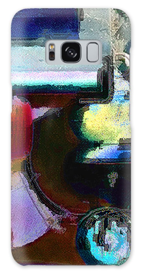 Abstract Galaxy S8 Case featuring the photograph panel two from Centrifuge by Steve Karol