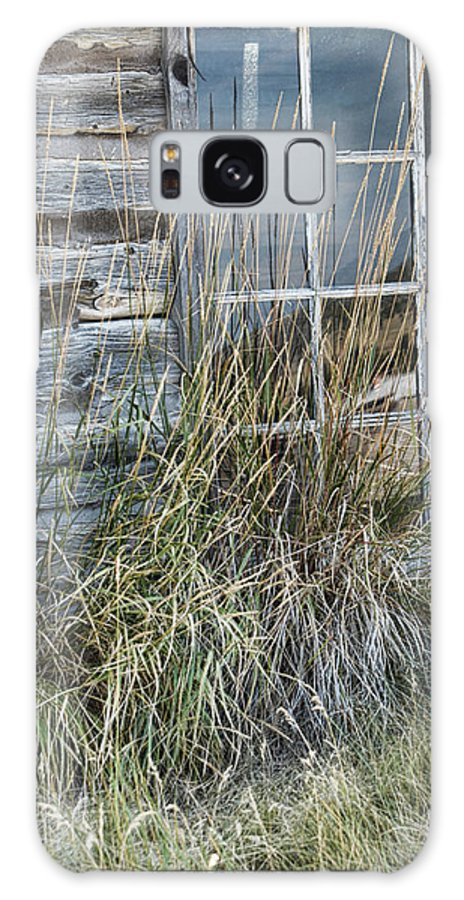 Window Galaxy S8 Case featuring the photograph Panes Of The Past by Jody Lovejoy