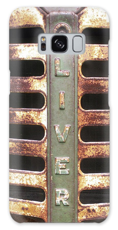 Macro Galaxy S8 Case featuring the photograph Pap's Trusty by Alexis Ketner
