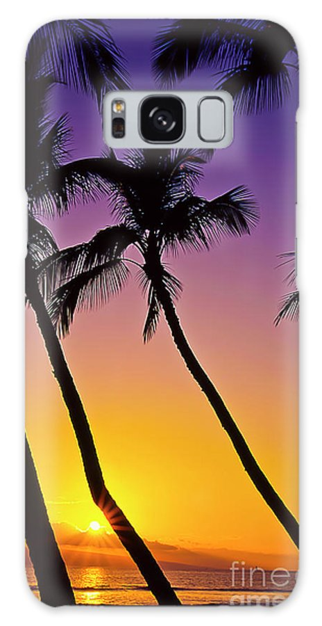 Sunset Galaxy S8 Case featuring the photograph Paradise by Jim Cazel