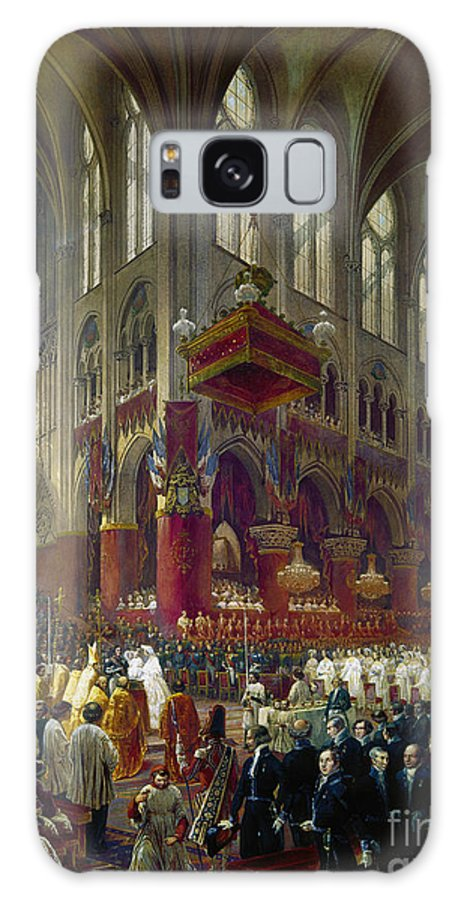 1841 Galaxy S8 Case featuring the photograph Paris: Notre Dame, 1841 by Granger
