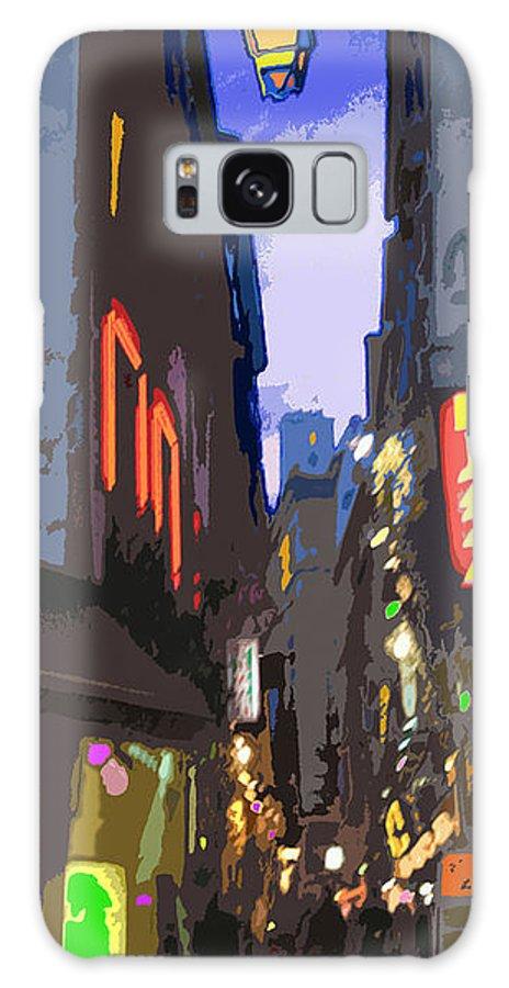 Paris Galaxy S8 Case featuring the photograph Paris Quartier Latin 01 by Yuriy Shevchuk