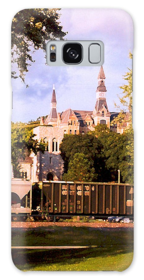 Landscape Galaxy S8 Case featuring the photograph Park University by Steve Karol