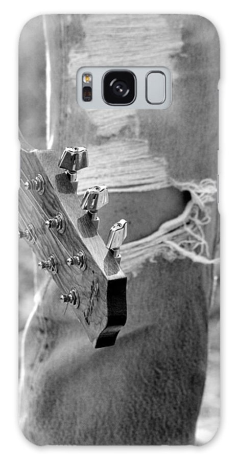 Guitar Galaxy S8 Case featuring the photograph Parts by Elizabeth Hart