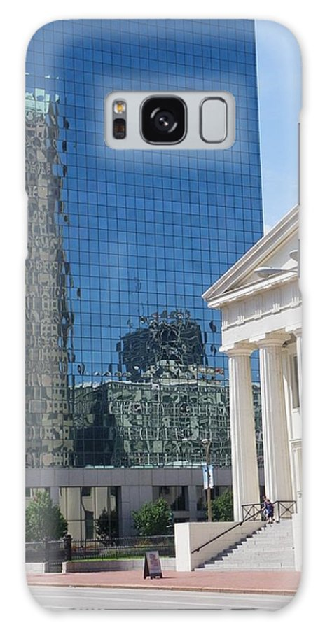 St.louis Galaxy S8 Case featuring the photograph Past And Present Reflections by Peggy King