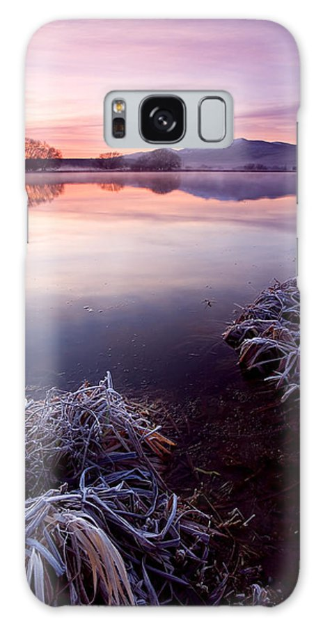 Lake Galaxy Case featuring the photograph Pastel Dawn by Mike Dawson