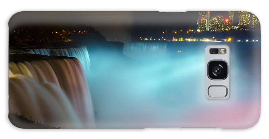 Niagara Falls Galaxy S8 Case featuring the photograph Pastel Falls by Mark Papke