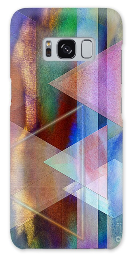 Pastoral Midnight Galaxy Case featuring the digital art Pastoral Midnight by John Beck