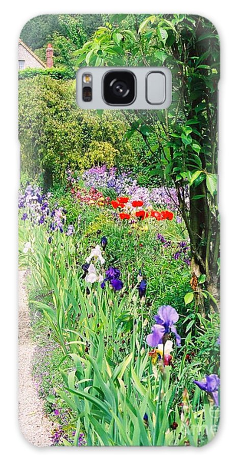 Claude Monet Galaxy S8 Case featuring the photograph Path To Monet's House by Nadine Rippelmeyer