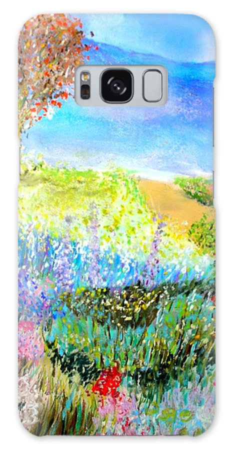 Landscape Galaxy S8 Case featuring the print Patricia's Pathway by Melinda Etzold