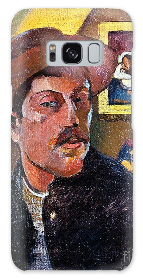 1893 Galaxy S8 Case featuring the photograph Paul Gaugin (1848-1903) by Granger