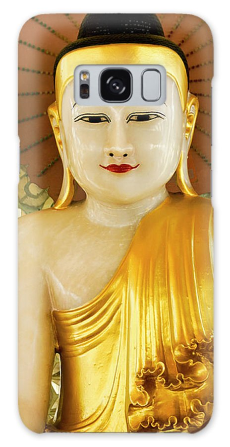 Asia Galaxy S8 Case featuring the photograph Peaceful Buddha by Michele Burgess