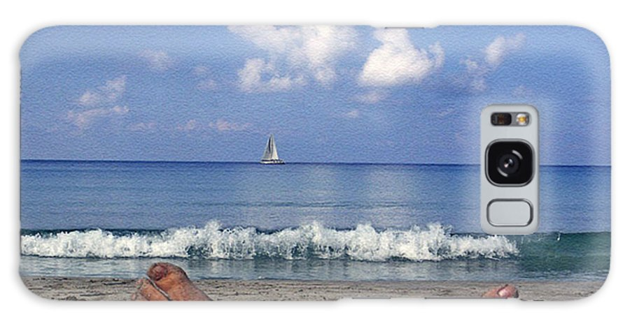 Sea Galaxy S8 Case featuring the photograph Peaceful Existence by Dee Flouton