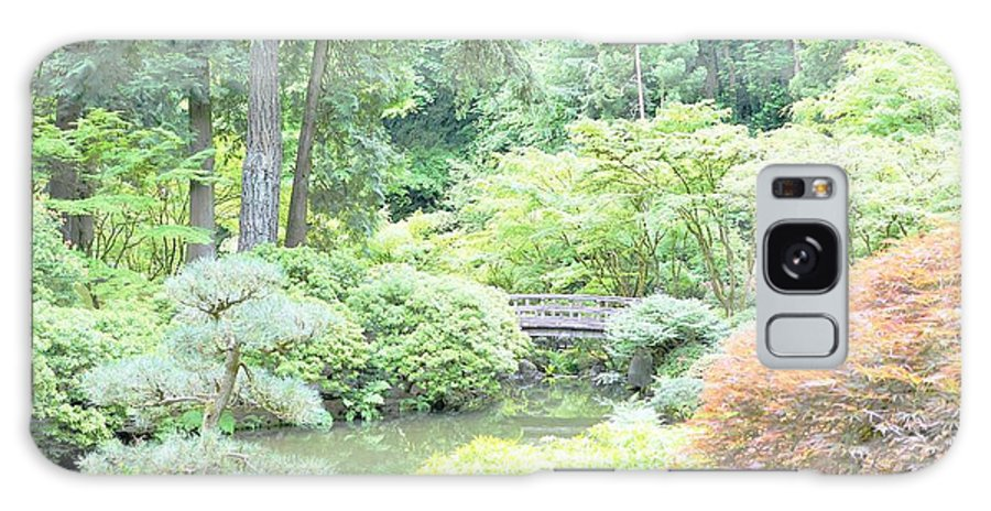 Gardens Galaxy S8 Case featuring the photograph Peaceful Garden Space by Merle Grenz