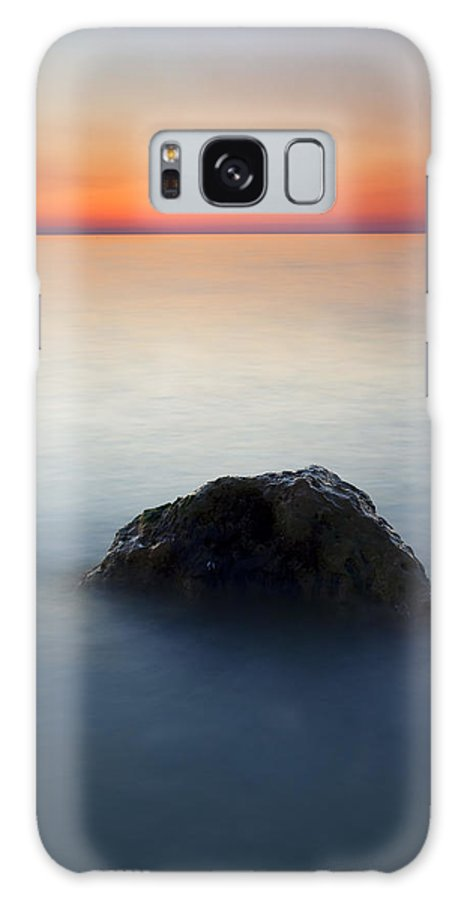 Rock Galaxy S8 Case featuring the photograph Peaceful Isolation by Mike Dawson