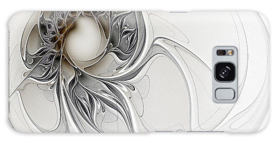 Digital Art Galaxy S8 Case featuring the digital art Pearl by Amanda Moore