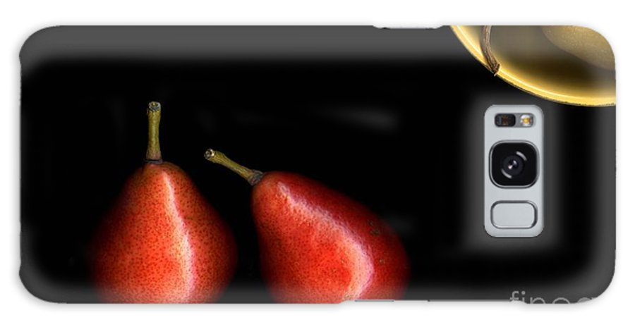 Pears Galaxy Case featuring the photograph Pears And Bowl by Christian Slanec