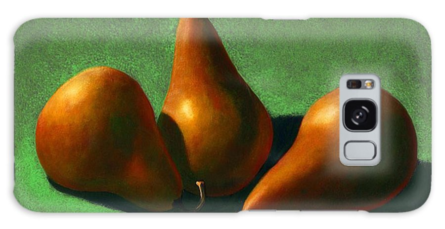 Still Life Galaxy S8 Case featuring the painting Pears by Frank Wilson