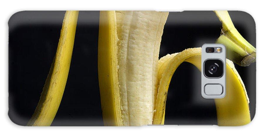 Studio Galaxy S8 Case featuring the photograph Peeled Banana. by Bernard Jaubert