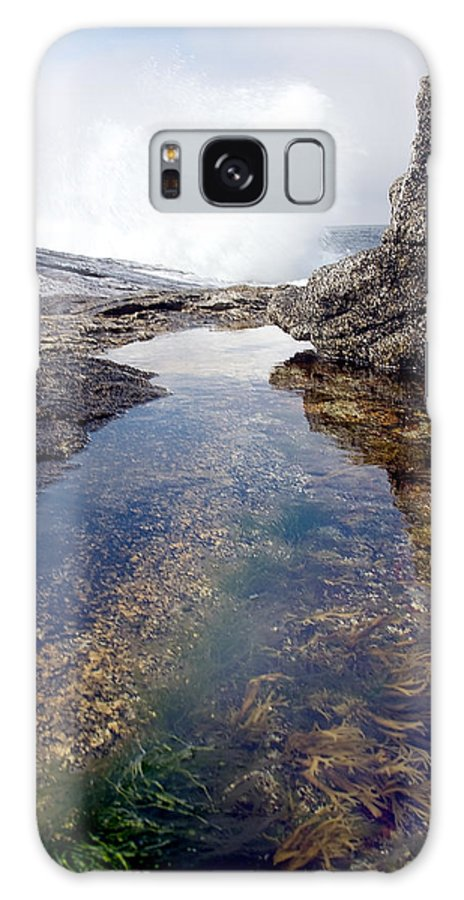 Scenics Galaxy Case featuring the photograph Peggy's Cove Tide Pool by Steve Somerville