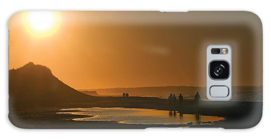 Prince Edward Island Galaxy S8 Case featuring the photograph Pei Cavendish Beach Sunset by Steve Somerville
