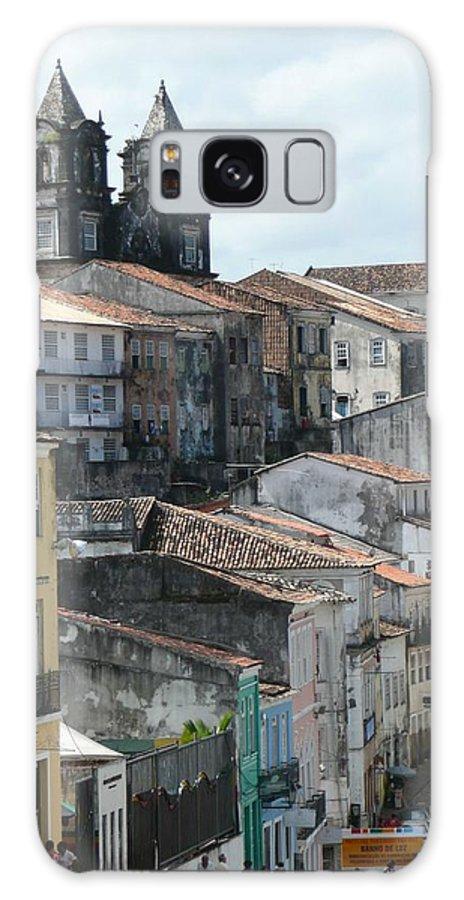Pelourinho Galaxy S8 Case featuring the photograph Pelourinho 2 by Kathy Schumann