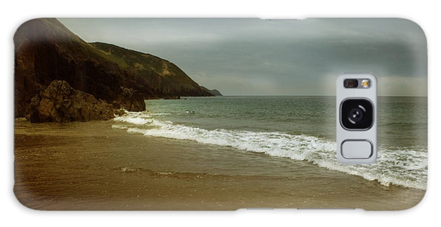 Beach Galaxy S8 Case featuring the photograph Pembrokeshire by Angel Ciesniarska