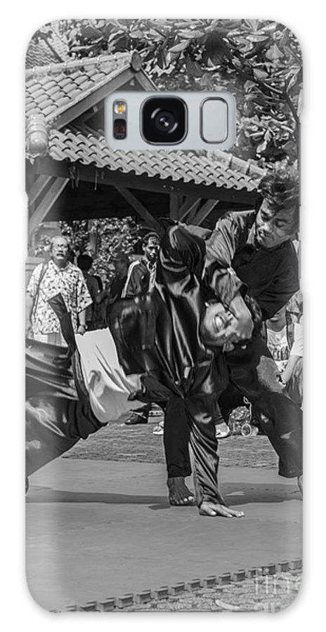Martial Arts Galaxy S8 Case featuring the photograph Pencak Silat by Arie Toursino