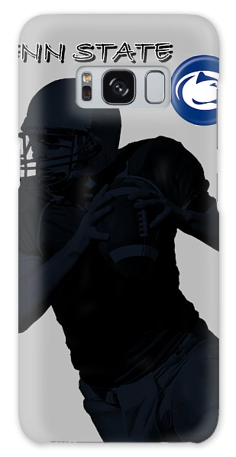 Football Galaxy S8 Case featuring the digital art Penn State Football by David Dehner