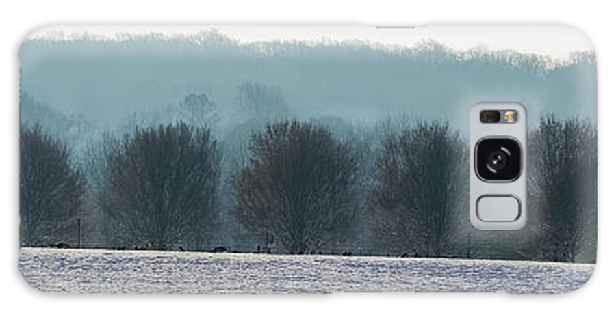 North America Galaxy S8 Case featuring the photograph Pennsylvania Winter by Maria Costello