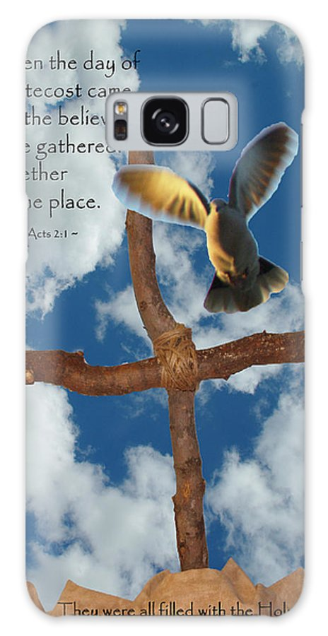 Pentecost Galaxy S8 Case featuring the photograph Pentecost by Robyn Stacey